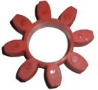 Elastiskt element GP42ER Röd, 98 Shore