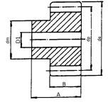 Cylindriskt kugghjul M1,5 - Z30